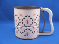 ANDROCK 50s 3 Screen SIFTER Red Starburst