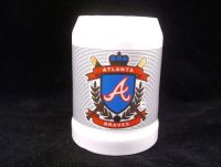 ATLANTA BRAVES Large Beer Mug with Gold Accents MN