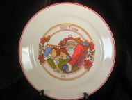 1991 Corelle Happy Holidays Plate MINT