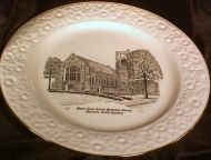 1986 MYERS PARK Methodist Church Decorative Plate