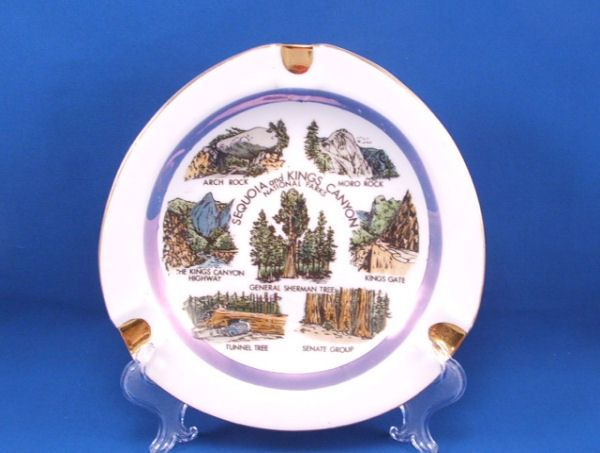 SEQUOIA KINGS CANYON Souvenir Ashtray